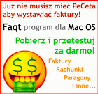 Program do fakturowania na Apple Mac - Faqt dla Mac OS